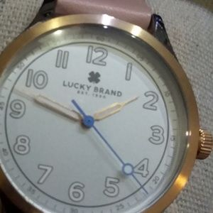 NWT Lucky Brand Watch Pink